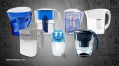 Water filters tested for heavy metals removal: Zero Water, Pur, Brita, Mavea, Culligan, Seychelle and Waterman