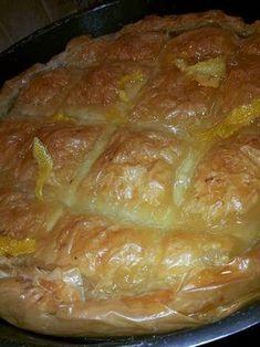 Γαλακτομπούρεκο τύπου ΄΄κοσμικόν΄΄ Greek Sweets, Greek Desserts, Greek Recipes, Greek Cake, Cyprus Food, Food Network Recipes, Cooking Recipes, Greek Pastries, Best Sweets