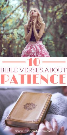 10 Bible Verses about Patience that will inspire you to wait for God's perfect timing. These bible quotes will give you peace in the midst of the unknown. #faith #bible #christ #patience