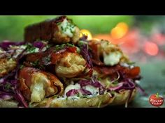 Ultimate Bacon & Cheese Turkey Burger!! - MUST SEE! - YouTube