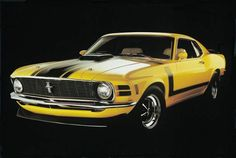 Ford Mustang Boss 1970