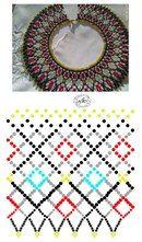Beading Patterns Free, Peyote Patterns, Weaving Patterns, Diy Necklace Patterns, Beaded Jewelry Patterns, Brick Stitch Earrings, Handmade Beads, Bead Weaving, Beaded Embroidery