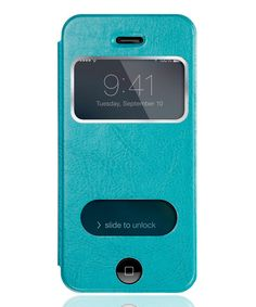 Teal Window Case for iPhone 5/5s