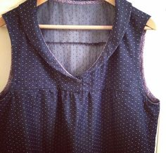 """A gorgeous finished West Water Tunic from Suzanne French!   """"You know that lovely feeling when something you make seems to have turned out really nicely?... Well I have it..."""""""