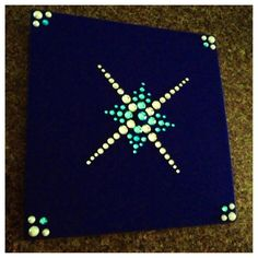 Graduation cap design. Bling is from Michael's craft store. :)