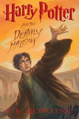 Harry Potter and the Deathly Hallows.    The Final book in the Harry Potter series.  So sad that it's finished!  Please JK Rowling...write more!