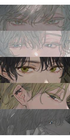 ゆた( - Everything About Anime Bakugou Manga, Manga Drawing, Male Manga, Drawing Art, Anime Kunst, Anime Art, Digital Art Anime, Aesthetic Anime, Aesthetic Art