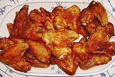 Chickenwings, ein schmackhaftes Rezept aus der Kategorie Geflügel. Bewertungen: 37. Durchschnitt: Ø 4,1.