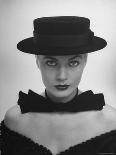 Miss Sweden Anita Ekberg Sporting a Sailor Hat Which Brings Out Her Large Eyes and Sculptured Face 1951 by Lisa Larsen Anita Ekberg, Classic Hollywood, Old Hollywood, Hollywood Divas, Hollywood Icons, Hollywood Fashion, Hollywood Actresses, Fellini Films, Stars D'hollywood
