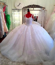 Luxury Ball Gown Wedding Dresses ,2015, Victorian Princess Bridal Gowns, Sexy Backless Wedding Gowns ,New , Tulle Plus Size Bridal Dresses