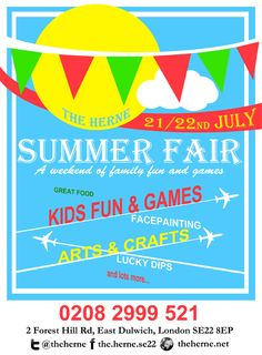 Summer Fair On Pinterest School Fair Poster Ideas And