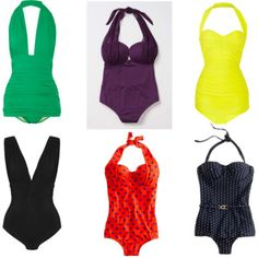 Retro swimsuits for summer