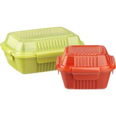 Large Green To Go Container in Food Containers, Storage | Crate and Barrel