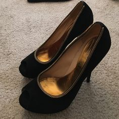 Gucci high heels Brand new. Never been worn. Comfortable leather sole! (399 by venm0) Gucci Shoes Heels
