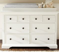 Shop larkin from Pottery Barn Kids. Find expertly crafted kids and baby furniture, decor and accessories, including a variety of larkin. Changing Table Topper, Baby Changing Tables, Changing Table Dresser, Nursery Dresser, Girl Nursery, Nursery Ideas, Nursery Furniture, Room Ideas, Kid Furniture