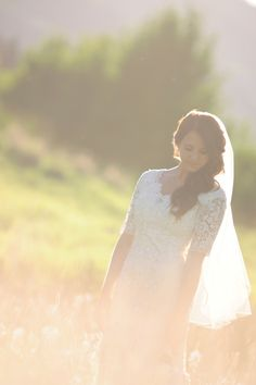 Ethereal bride | Image by David Newkirk Photography