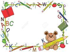 school frames and borders ile ilgili görsel sonucu School Border, Boarders And Frames, School Images, School Frame, School Clipart, Page Borders, Borders For Paper, Frame Clipart, Paper Frames