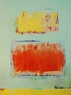 Abstract #526, Acrylic on Canvas, 30x40