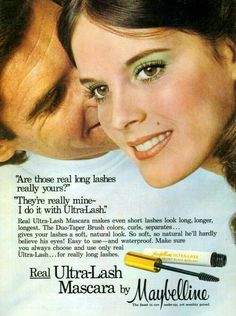 Real Ultra-Lash Mascara by Maybelline, 1974.