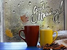 good morning videos beautiful i love you ; Good Morning Gif Funny, Good Morning Rainy Day, Good Morning Video Songs, Saturday Morning Quotes, Happy Tuesday Morning, Rainy Day Quotes, Good Morning World, Good Morning Coffee, Good Morning Happy