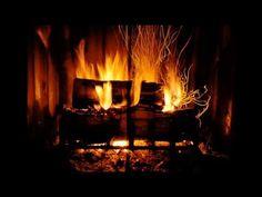 Fire Sounds Camp Fire On A Windy Night