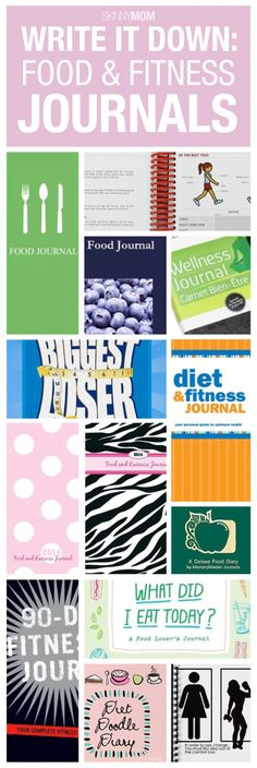 Keep track of your food and your fitness in one of these great journals.