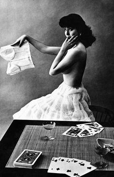 Vintage lingerie ad