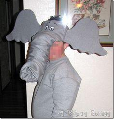 Dr. Seuss Horton the Elephant Hat Tutorial
