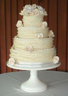 #cake_stand, #cake, #wedding. Ivory Wedding Cake Stand.