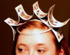 Alice in Wonderland---Queen of Hearts--Queen of hearts hat -Fascinator-hat-headband