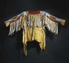 Военная рубаха Кроу. Принадлежала семье генерала Richard Taylor's (CSA) 1826 – 1879, сына президента Zachary Taylor's.