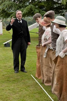 Downton Abbey series finale: Anna looks upset and Branson introduces Daisy to…