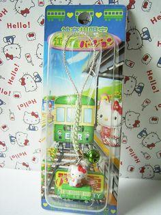 GOTOCHI HELLO KITTY KANAGAWA JAPAN Only! Figure Strap ENODEN Sanrio 2006 NEW 2.1cm 22.50