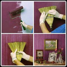 Truco de pintura para una pared muy original: http://www.serranos-studio.com
