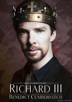 """Из ожидаемых событий будет новый сериал Би-би-си """" Ричард III """", про короля, хорошо известного по одноименной Шекспировской пьесе с Бенедиктом Камбербетчем в главной роли. Сложный, интересный, опасный человек был Ричард, есть что играть актеру. К тому же Беник вплотную взялся за Шекспира,…"""
