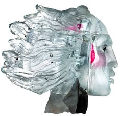 New vision Glass sculpture by Claes Uvesten