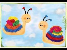 """Fensterbild """"Süße Raupe"""", Basteln mit Kindern - YouTube Fox Cookies, Engagement Ring Cuts, Woodland Party, Holiday Cocktails, Macrame Jewelry, Caterpillar, Projects To Try, Snoopy, Barn"""