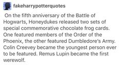 Honeydukes Harry Potter Remus Lupin Colin creevey- totally crying right now Harry Potter Sad, Harry Potter Universal, Hogwarts, Slytherin, Remus Lupin, The Marauders, Mischief Managed, Book Fandoms, Harry Potter Funnies