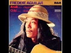 Freddie Aguilar - Anak (1978) My Soulmate, Me Me Me Song, Good Music, Writers, Lyrics, Thankful, Songs, Celebrities, Youtube