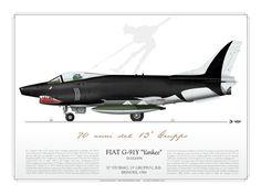 ITALIAN AIR FORCE 32° Stormo, 13° Gruppo C.B.R. Brindisi, 1988 Special color 70 anni del 13° Gruppo