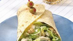 Dinner's wrapped in just 10 minutes with a meal that starts with family-favorite Caesar salad.