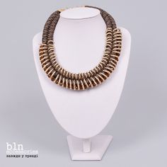 Яскраве та стильне кольє в магазинах BLNaccessories \ Bright and stylish necklace in stores BLN accessories
