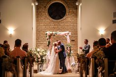 First kiss picture as Mr. Location: Clark Gardens' Chapel in Weatherford, TX Photo Credit: Tribe Photography First Kiss Picture, Clark Gardens, Weatherford Tx, Photo Credit, Photography, Wedding, Valentines Day Weddings, Photograph, Fotografie