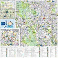 Darmstadt tourist attractions map Maps Pinterest Darmstadt and