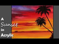 Acrylic Painting Tips for Beginners: Blending - YouTube