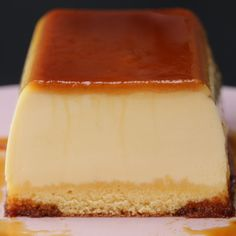 Desserts Recipes Purunpurun ♪ two layers of pudding cake Delicious Desserts, Yummy Food, Flan Recipe, Pudding Cake, Sweet Recipes, Baking Recipes, Sweet Treats, Food And Drink, Tasty