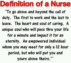 This is what people need to remember it doesn't matter if ur an RN LPN ect were all important were all nurses what makes a good nurse is all of those things...!