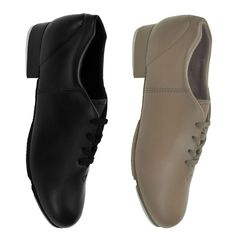Capezio® CG17 Fluid Tap Shoe. A quality tap shoe at a great value. It is lightweight & features a cross between a full & split sole. Soft upper with padded collar & insole. Of course, it comes with the world renowned Tele Tone® Taps.   www.dancinginthestreet.com Tap Shoes, Dance Shoes, Plastic Heels, The Dancer, Taps, Pu Leather, Accessories, Black, Fashion