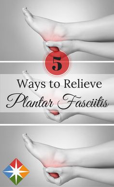 5 Tips for Finding Relief from Plantar Fasciitis. Is your heel pain keeping you from enjoying your activities? Find out how to find relief and heal your heels! | via @SparkPeople