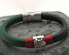 EXPRESS SHIPPING Men's Bracelet. Men'S Leather by eliziatelye